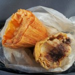 Breakfast at the Myrtle-Wyckoff Tamale Cart