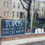 First Look: Topos Bookstore Cafe