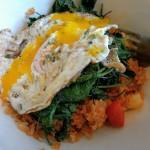 Spring Foraging Recipe: Garlic Mustard Rice Bowls